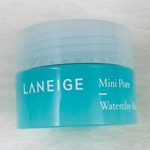 New! Laneige Mini Pore Clarifying Waterclay Mask